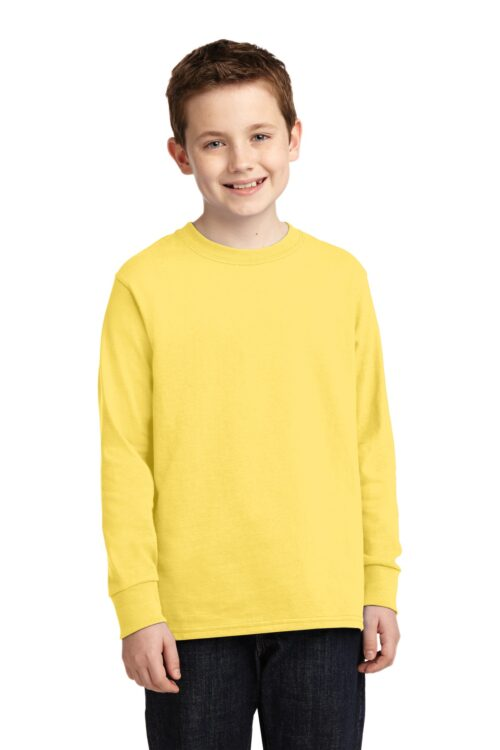 Youth Long Sleeve Core Cotton Tee